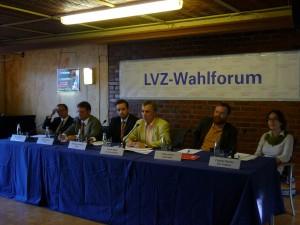 LVZ Podiumsgespräch in meinem Wahlkreis