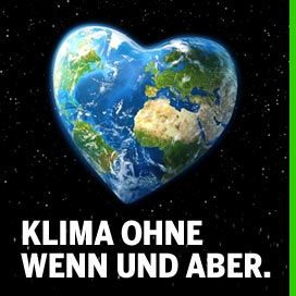 Stopp der Erderwärmung!