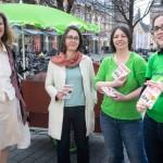 mit Katharina Krefft, Gesine Märtens und Stefanie Gruner