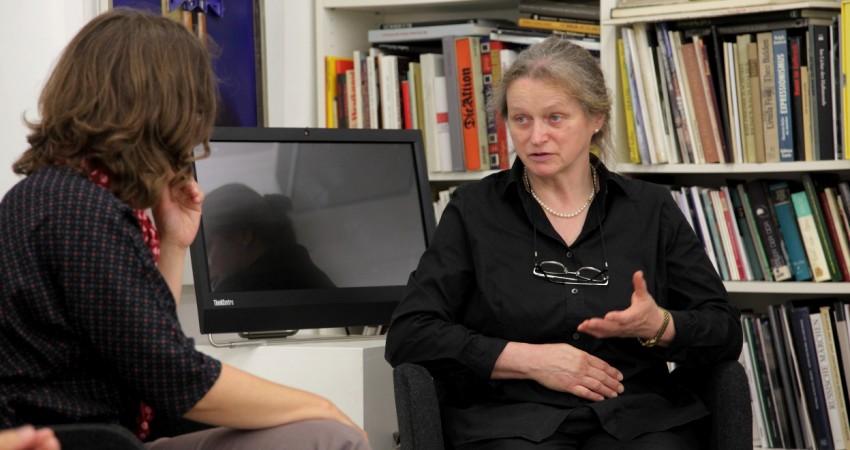 Claudia Maicher im Gespräch mit Sabine Schubert