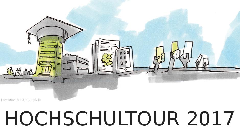 Hochschltour 2017 (Link zur GRÜNEN Fraktion Sachsen)
