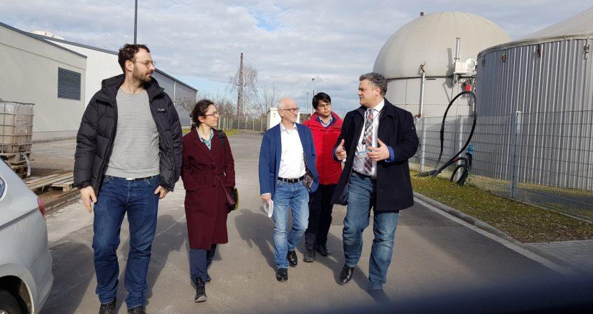 Besuch Deutsches Biomasseforschungszentrum