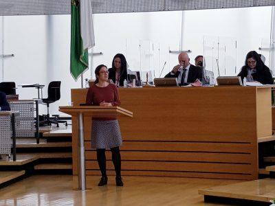 Dr. Claudia Maicher hält Rede im Sächsischen Landtag