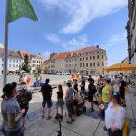 Müllsammelaktion am Torgauer Marktplatz Juni 2021 1