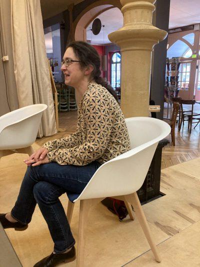 Claudia Maicher im Gespräch mit Schaubühne Lindenfels