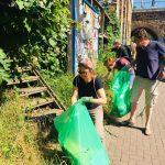 Müllsammelaktion zum Frühjahrsputz im Leipziger Westen 6