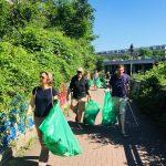 Müllsammelaktion zum Frühjahrsputz im Leipziger Westen 5