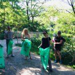 Müllsammelaktion zum Frühjahrsputz im Leipziger Westen 1