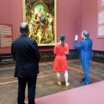 Rundgang vom Kulturausschuss des Sächsischen Landtags bei den Staatlichen Kunstsammlungen Dresden 5