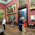 Rundgang vom Kulturausschuss des Sächsischen Landtags bei den Staatlichen Kunstsammlungen Dresden 2