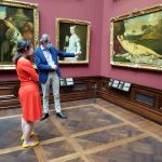 Rundgang vom Kulturausschuss des Sächsischen Landtags bei den Staatlichen Kunstsammlungen Dresden 1