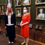 Rundgang vom Kulturausschuss des Sächsischen Landtags bei den Staatlichen Kunstsammlungen Dresden 7