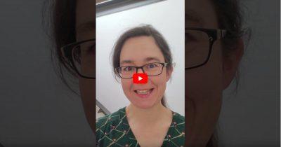 Screenshot von Videobotschaft von Claudia Maicher zum Sachsenburger Dialog 2021