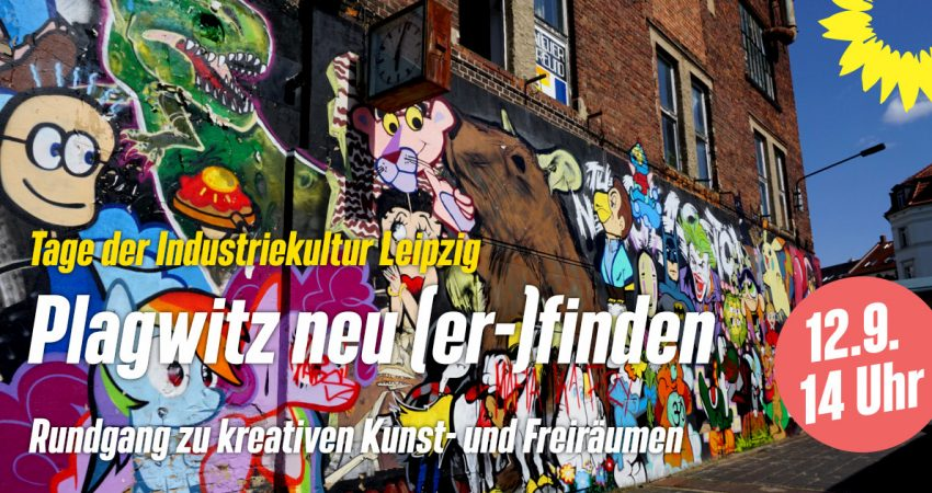Rundgang 'Plagwitz neu (er-)finden' Industriekulturtage Leipzig