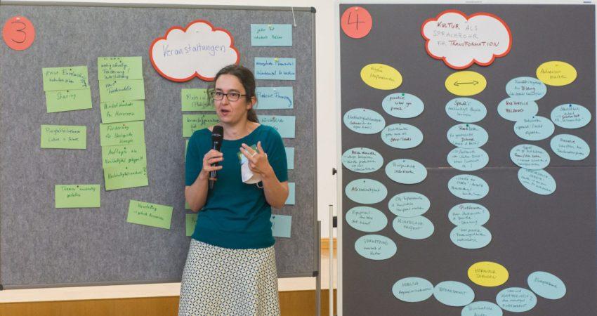 Werkstatt Green Culture in Dresden - Nachhaltigkeit in der Kultur (Foto © Mai Trinh) 4